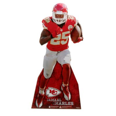 Jamaal Charles Life-Size Stand Out Freestanding Cut Out