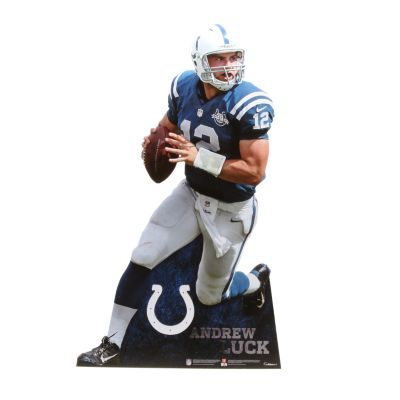 Andrew Luck Life-Size Stand Out Freestanding Cut Out