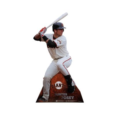 Buster Posey Life-Size Stand Out Freestanding Cut Out
