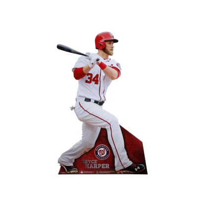 Bryce Harper Life-Size Stand Out Freestanding Cut Out