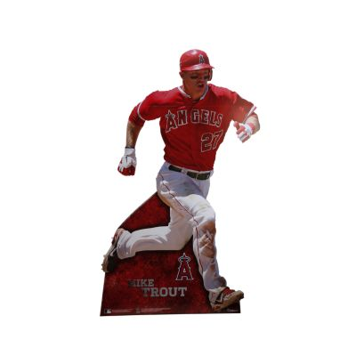 Mike Trout Life-Size Stand Out Freestanding Cut Out