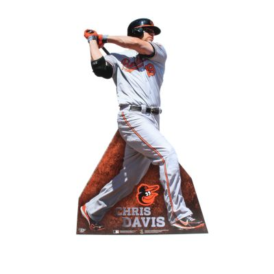 Chris Davis Life-Size Stand Out Freestanding Cut Out