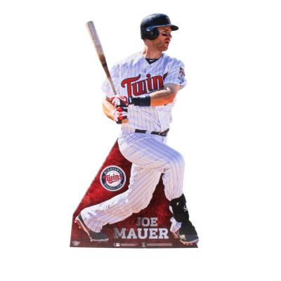 Joe Mauer Life-Size Stand Out Freestanding Cut Out