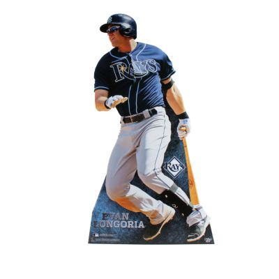 Evan Longoria Life-Size Stand Out Freestanding Cut Out