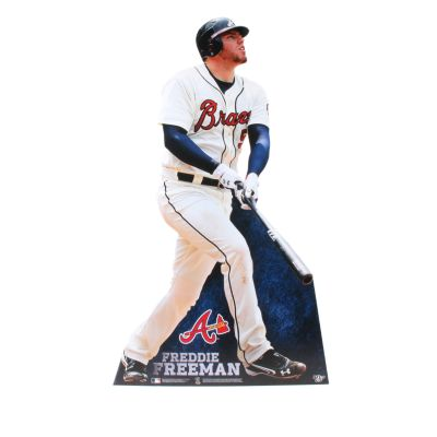 Freddie Freeman Life-Size Stand Out Freestanding Cut Out