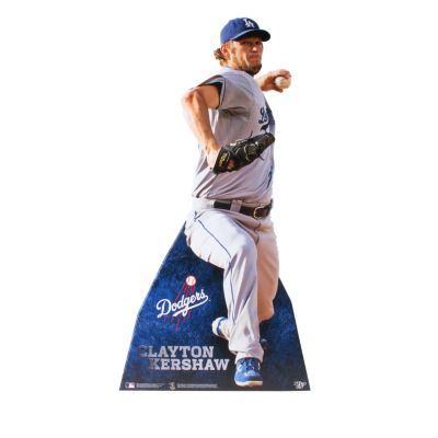 Clayton Kershaw Life-Size Stand Out Freestanding Cut Out