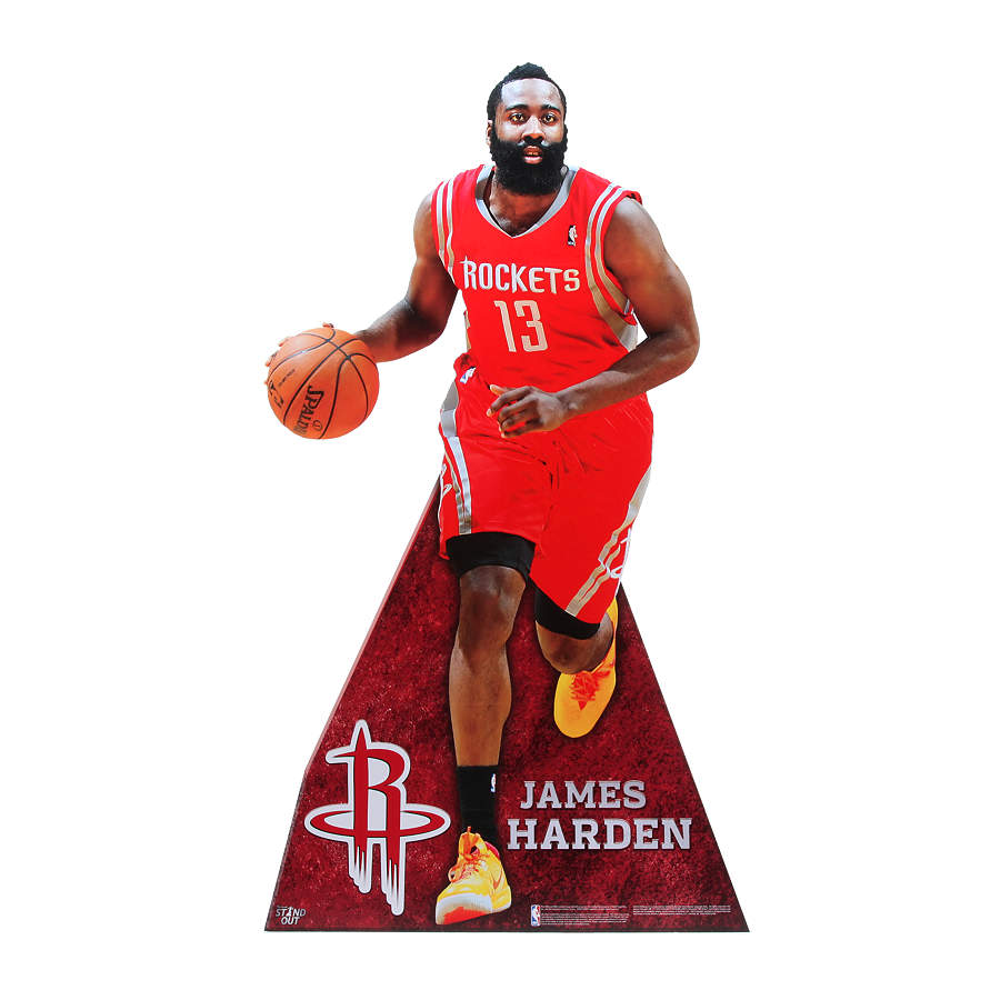 James Harden Life-Size Stand Out Cut Out