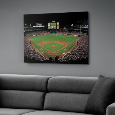 Inside Turner Field Canvas Print