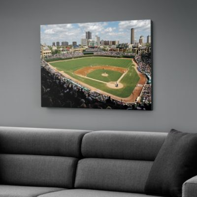 Inside Wrigley Field Canvas Print