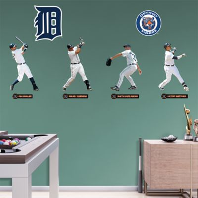 Detroit Tigers Power Pack Fathead Wall Decal