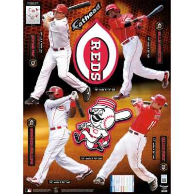 Cincinnati Reds Power Pack Fathead Wall Decal