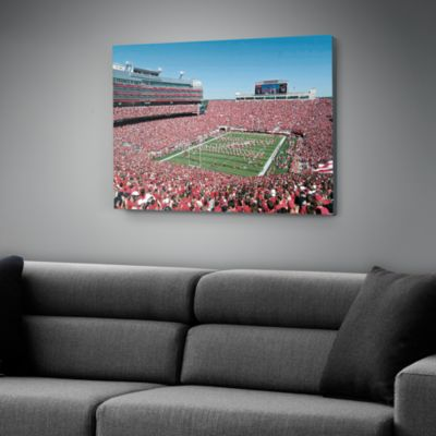 Nebraska Cornhuskers - Memorial Stadium Canvas