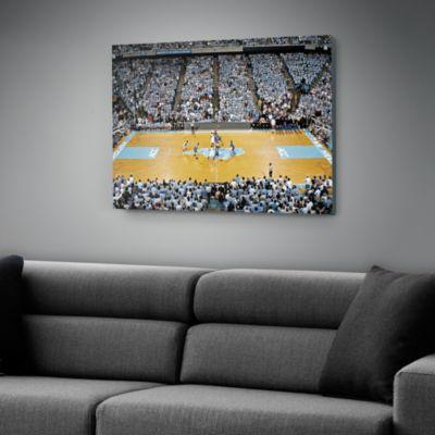 North Carolina Basketball Canvas - Dean E. Smith Center
