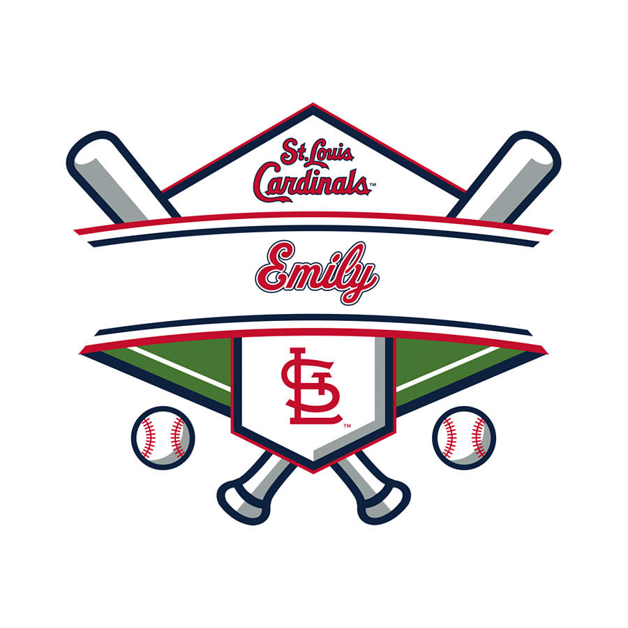 Home Decorators Outlet St Louis: St. Louis Cardinals Personalized Name Wall Decal