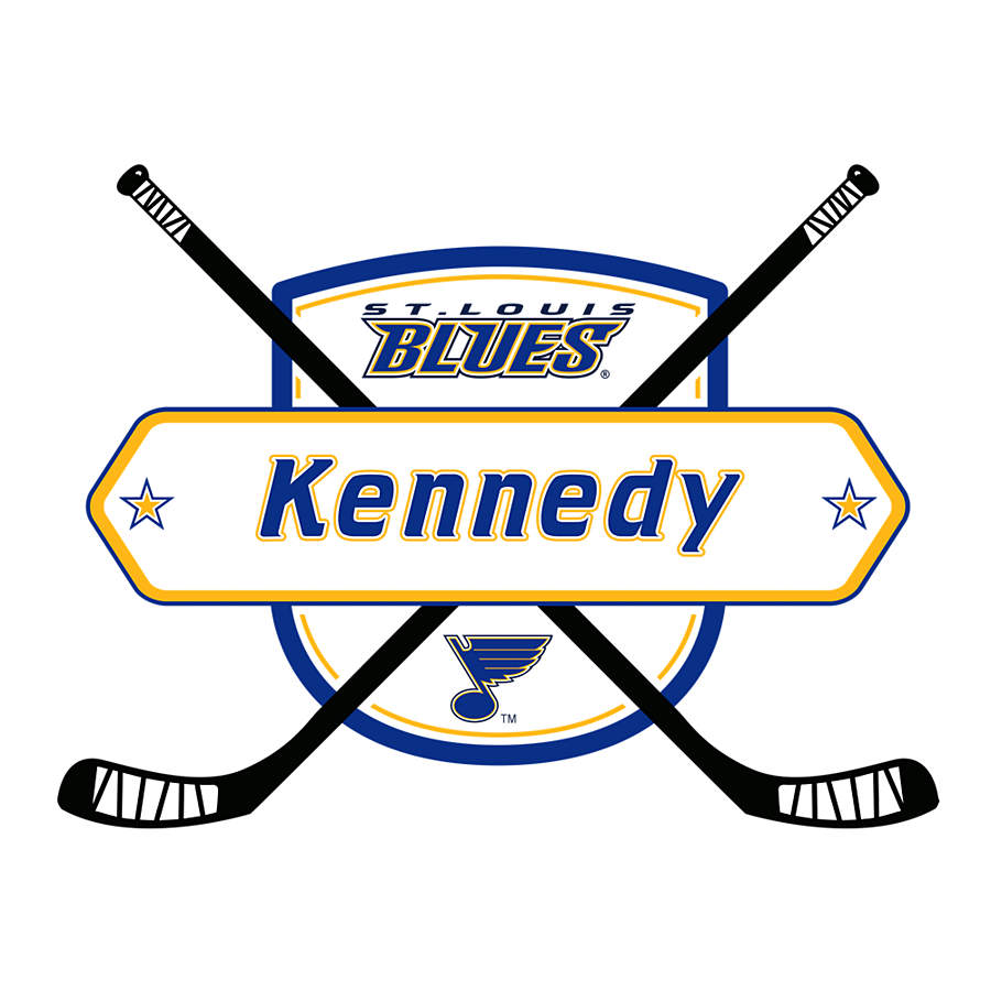 Home Decorators Outlet St Louis: St. Louis Blues Personalized Name Wall Decal