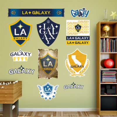 Los Angeles Galaxy Logo Collection Fathead Wall Decal