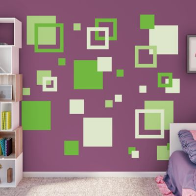 Squares Fathead Wall Decal