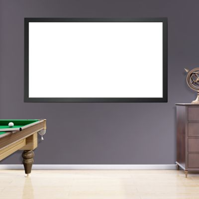 Real.Big. Projection Screen on Fathead Vinyl