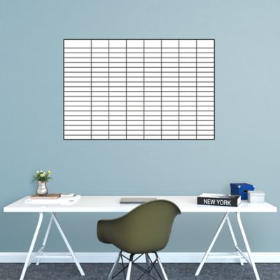 Dry Erase Sales Goal Tracking Chart