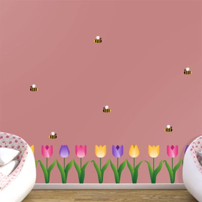 Tulips Collection Fathead Wall Decal