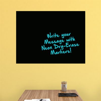 Large Black Dry Erase Board by Fathead Fathead Wall Decal