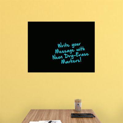 Medium Black Dry Erase Board by Fathead Wall Decal