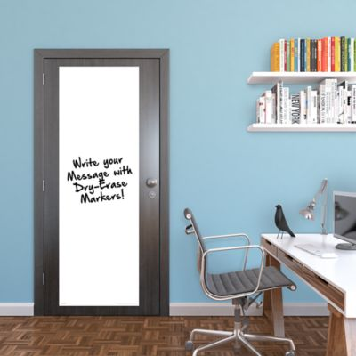 White Dry Erase Door Boards - Two Pack Fathead Wall Decal