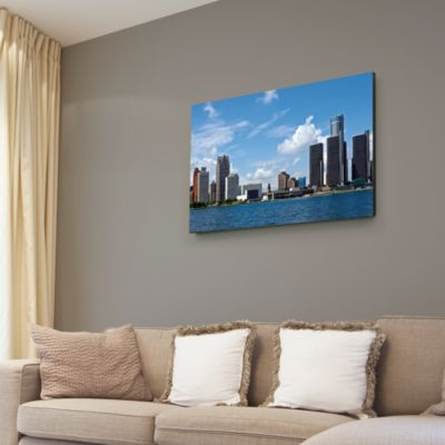 Detroit Skyline Canvas