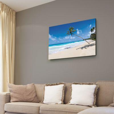 Tropical Beach Canvas