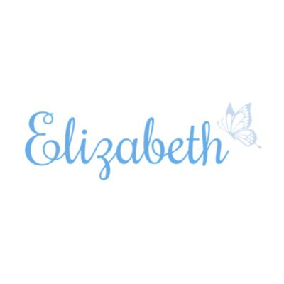Butterfly Script Personalized Name Fathead Wall Decal