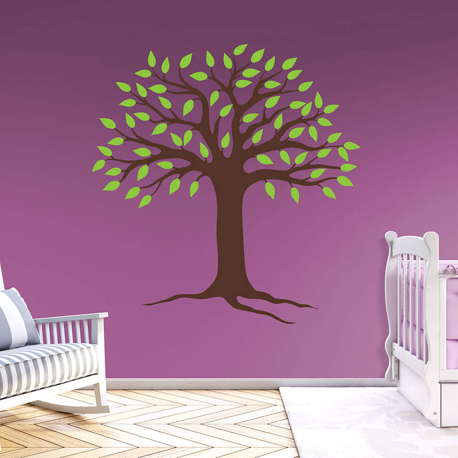 Spring Tree Wall Decor : Spring tree wall decal fathead? for art d?cor