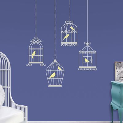 Bird Cages Fathead Wall Decal