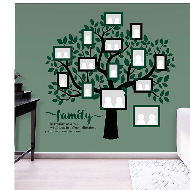 family tree wall decal shop fathead for wall art d cor. Black Bedroom Furniture Sets. Home Design Ideas