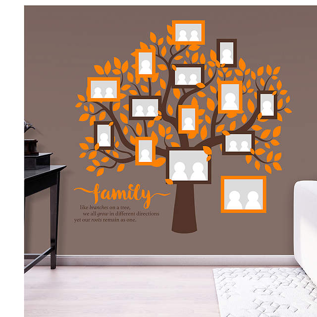 Family Tree Wall Decal Shop Fathead 174 For Wall Art D 233 Cor