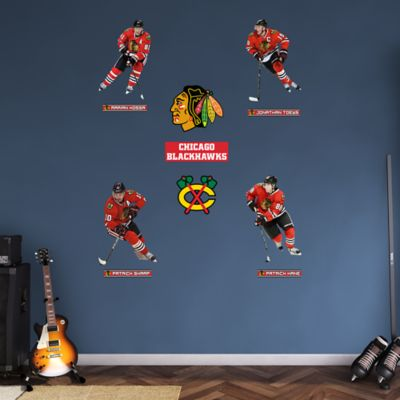 Chicago Blackhawks Power Pack Fathead Wall Decal