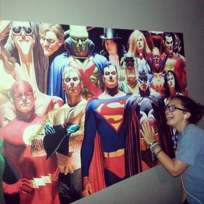 Fan photo of a DC Comics Fathead