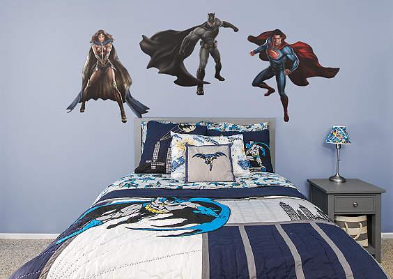 Unique Batman Vs Superman Bedroom Ideas That Rock: Shop Justice League Wall Decals & Graphics