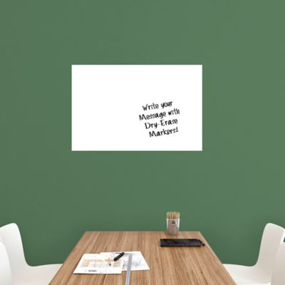 Medium White Dry Erase Board by Fathead Wall Decal