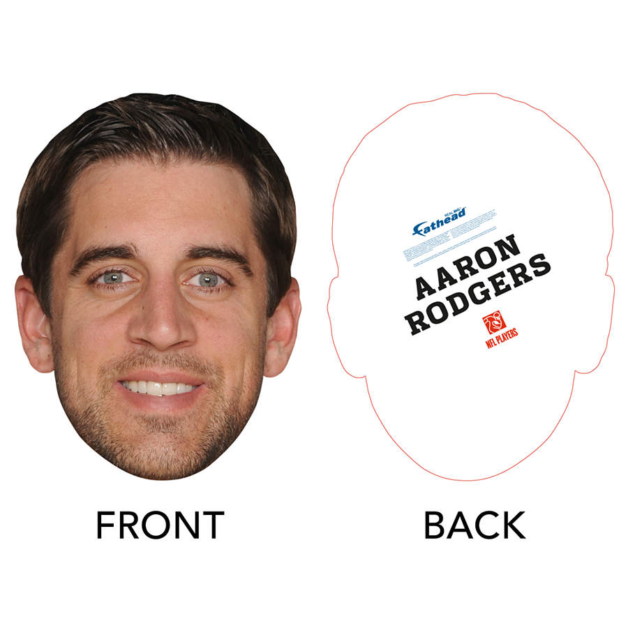 Aaron Rodgers Big Head Cut Out Shop Fathead 174 For Packers