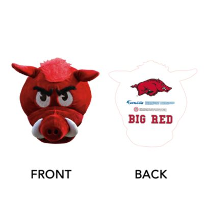 Big Red Big Head - Arkansas Cut Out