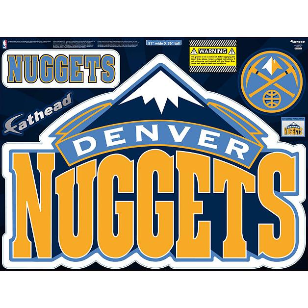 Denver Nuggets Facts: Denver Nuggets Street Grip Outdoor Decal