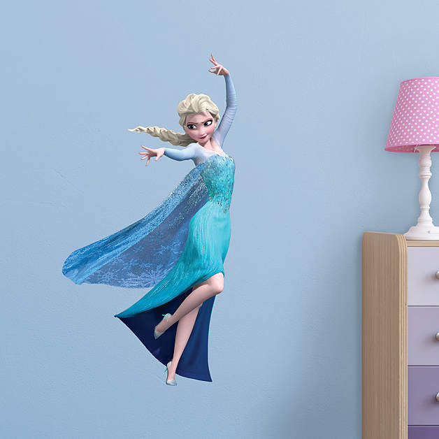 Snow Queen Elsa - Fathead Jr Wall Decal