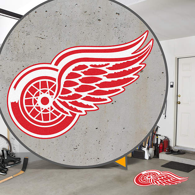 Detroit Red Wings Street Grips Outdoor Graphics