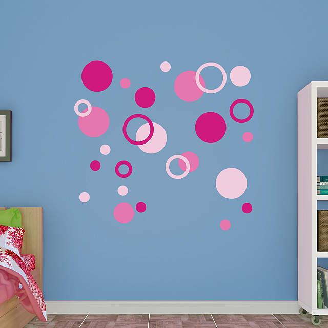Polka Dots Wall Decal Shop Fathead 174 For Basic Shapes Decor