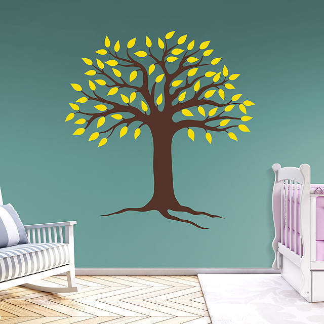 Spring Tree Wall Decal | Shop Fathead® for Wall Art Décor