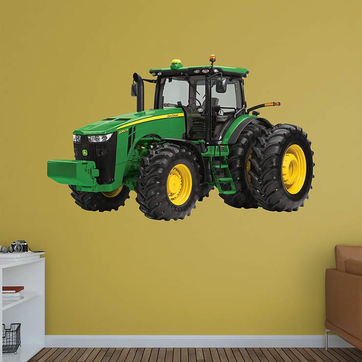 John Deere Wall Mural : John deere r tractor wall decal shop fathead for