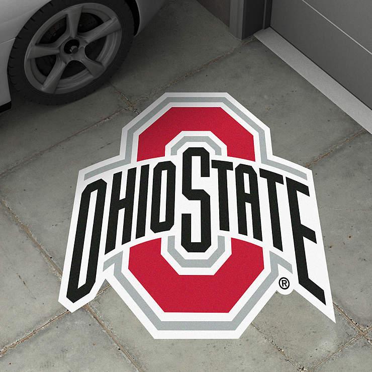 Ohio State Buckeyes Street Grip Outdoor Decal Shop