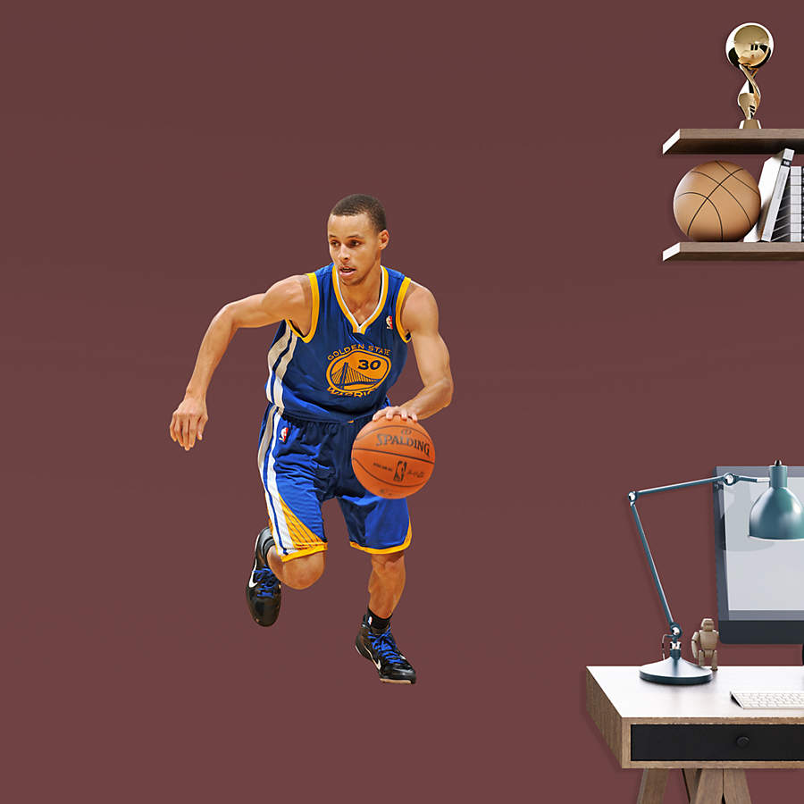 Stephen Curry Basketball: Stephen Curry - Fathead Jr. Wall Decal