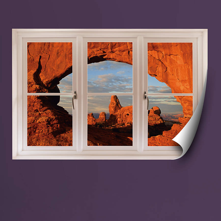 Home Decor Nation: Arches National Park: Instant Window Wall Decal