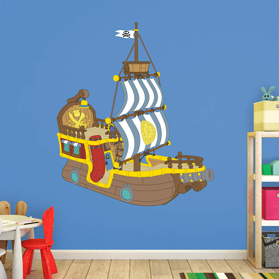 Bucky The Pirate Ship Jake And The Neverland Pirates Wall Decal Shop Fathead For Jake And